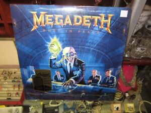 """Megadeth """"RUST IN PEACE"""" On Record SEALED!"""