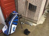 Golf Clubs Full Set Of Irons Driver, 5 Wood & Golf Bag