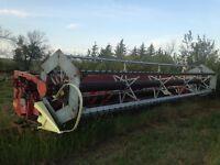 MF 22 ft floating combine header