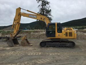 Deere excavators