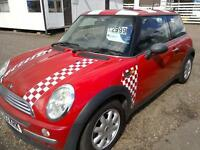 2003 Mini One 1.6 in Bright Red 92K Full Mot immaculate condition great 1st car