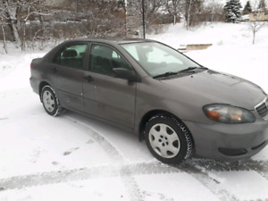 2005 Toyota Corolla, Low Kms, With Safety