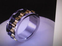 ☺RING Moveable Gear , Stainless Steel 10$ ☺   Is too big for me.