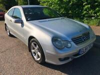 2005 MERCEDES-BENZ C180 KOMPRESSOR 1.8L AUTOMATIC PETROL 2 DOOR COUPE