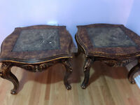 2 End Tables/Side Tables For Sale - $175 for the pair!!