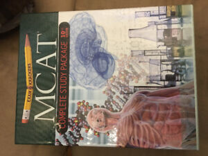 Complete MCAT study package 10th edition - new