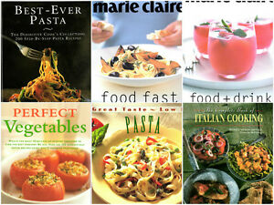 Cook books and diet books