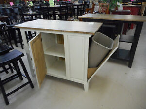 Island with Storage & Recycling Drawers London Ontario image 2