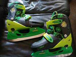 Ninja Turtle adjustable ice skates