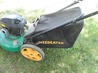"""5.5 Weedeater GAS LAWNMOWER with BAG 21"""" Blade"""