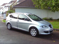 Superb 2008 Low Mileage Seat Altea XL 1.6 Reference Full Service History