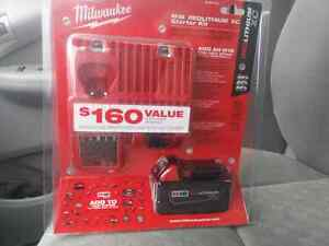 Milwaukee M18 starter kit.