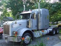 2005 Peterbilt 378, 18 speed heavy spec, PTO