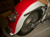 1971 FLH Harley Davidson Electra Glide Show and Go Project