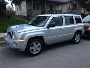 2010 Jeep Patriot Silver SUV, Crossover