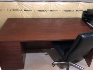 Office Desk and Chair - Extra Large work surface