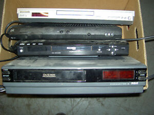 VCR   /  CD / DVD  Players