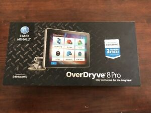 """Rand McNally OverDryve 8Pro 8"""" Truck GPS Tablet with Sirius XM"""