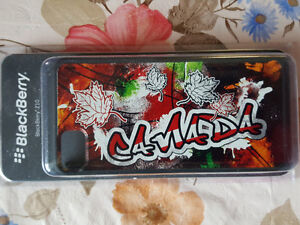 BlackBerry cell cover w/ Canada logo