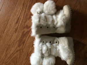 Baby boots and pants lot