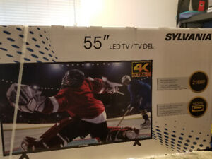 "Brand new 55"" Sylvania 4K LED TV"