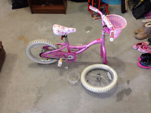 "Raleigh Candy 16"" Girls Bike *Free*"