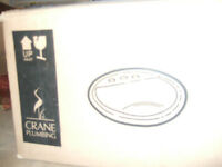 NEW Crane Bathroom Sink ONLY $24.50