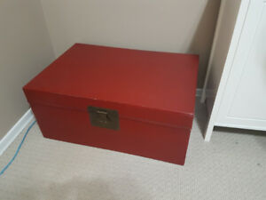 Large, Red Toy Chest