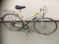 PEUGEOT LADIES BIKE WHITE 54CM