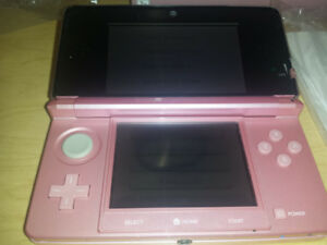 Pearl Pink Nintendo 3DS system complete in box with games!