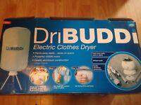 DriBuddi Electric clothes dryer. New.