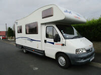 CI Carioca 635 Low Mileage 5 Berth Motorhome For Sale