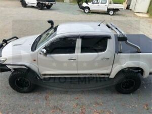 2014 Toyota Hilux KUN26R MY12 SR (4x4) White 4 Speed Automatic Dual Cab Pick-up Underwood Logan Area Preview