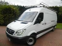 2013 Mercedes-Benz Sprinter 313 2.1 CDI LWB HIGH ROOF PANEL VAN WITH ROOF RACK