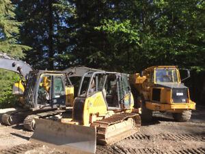 Excavator/Rock Truck/Bulldozer & Equipment Rentals