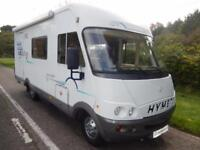 Hymer Starline 640 2002 4 Berth End Kitchen Motorhome For Sale