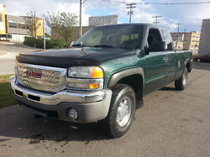 2003 GMC SIERRA 5.3L 1500 4x4 Ext Cab LONG BOX Safeted Car Proof