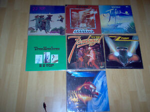 lps lot by  Z Z TOP reduce price to 50$ Gatineau Ottawa / Gatineau Area image 1