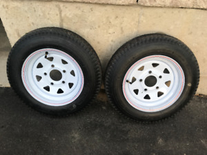 2 New Trailer Tires
