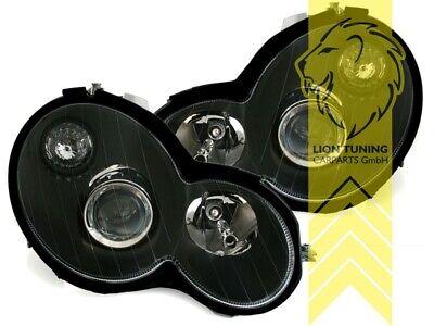 Design Scheinwerfer für Mercedes Benz CL203 Sportcoupe schwarz