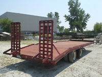 HEAVY EQUIPMENT TRAILER/FLOAT. RATED AT 9.9T BUT CAN GO HIGHER