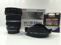 Objectif Canon EFS 10-22 mm USM