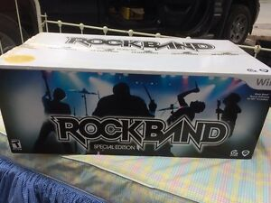 Wii Rockband Special Edition Game Software
