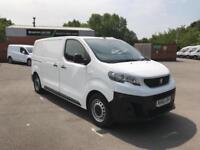 Peugeot Expert 1000 1.6 Bluehdi 95 S Van Euro 6 DIESEL MANUAL WHITE (2017)