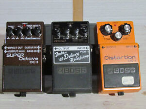 3 Boss Pedals, sell all three together