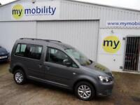 Volkswagen Caddy Automatic Drive from Wheelchair Driver Up front SIRUS WAV