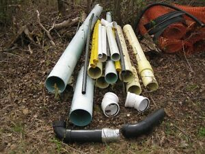 Miscellaneous Sewer, PVC, ABS, drainage pipes & fittings
