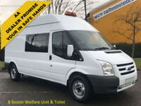 2009/59 Ford Transit 115 T350 8s [ Crew,Welfare,Mess,Toilet unit ] High roof van