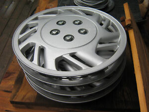 Four 14 inch hubcaps 25$