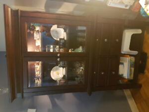 Display Cabinet or hutch for sale